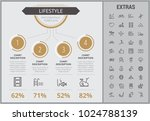 lifestyle infographic template  ... | Shutterstock .eps vector #1024788139