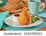 coxinha   typical brazilian...   Shutterstock . vector #1024789231