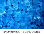 Colorful Blue Color Geometric...