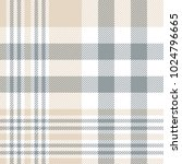 plaid check pattern in tan... | Shutterstock .eps vector #1024796665