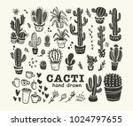 vector collection of black hand ... | Shutterstock .eps vector #1024797655