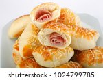 traditional brazilian snack  | Shutterstock . vector #1024799785
