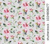 seamless watercolor pattern... | Shutterstock . vector #1024808677