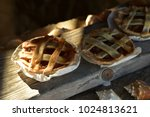 Mini Apple Pies On Windowsill...