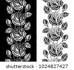 vector seamless pattern with... | Shutterstock .eps vector #1024827427