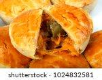empada brazilian snack. pie... | Shutterstock . vector #1024832581