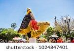 quito  ecuador   january 11 ...   Shutterstock . vector #1024847401