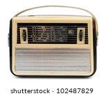Vintage Portable Radio Isolate...