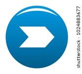 arrow icon vector blue circle...