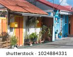 guadeloupe  the saintes islands ... | Shutterstock . vector #1024884331