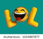 Lol Emoji. Internet Slang...
