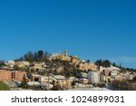 Small photo of Monforte of Alba, Cityscape of the town, Piedmont - Italy
