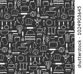 pattern with line hand drawn... | Shutterstock .eps vector #1024903645