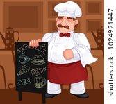 cook  vector illustration | Shutterstock .eps vector #1024921447