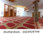 omer ibn hattab  mosque in... | Shutterstock . vector #1024929799