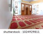 omer ibn hattab  mosque in... | Shutterstock . vector #1024929811