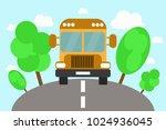 vector illustration of yellow...   Shutterstock .eps vector #1024936045