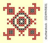 ld pattern elements....   Shutterstock .eps vector #1024945831