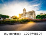 catalonia square   centre of... | Shutterstock . vector #1024948804