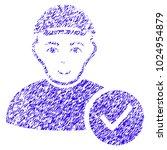 grunge user valid rubber seal... | Shutterstock .eps vector #1024954879