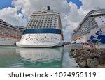 st john's  antigua and barbuda  ... | Shutterstock . vector #1024955119