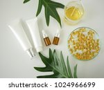 cosmetic package containers ....   Shutterstock . vector #1024966699