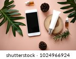 natural cosmetic cream   serum  ... | Shutterstock . vector #1024966924