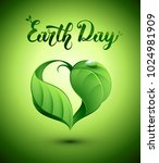 earth day concept illustration. ... | Shutterstock .eps vector #1024981909