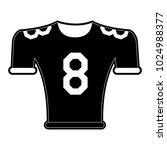 american football shirt   Shutterstock .eps vector #1024988377