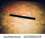 vintage rusty donation box for... | Shutterstock . vector #1025006329