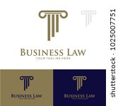 business law logo graphic... | Shutterstock .eps vector #1025007751