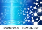 abstract background technology... | Shutterstock .eps vector #1025007859