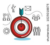 engage business set icons   Shutterstock .eps vector #1025018875