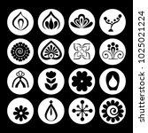 mandalas monochrome boho style... | Shutterstock .eps vector #1025021224