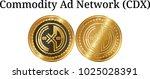 set of physical golden coin... | Shutterstock .eps vector #1025028391