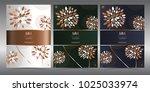 luxury premium menu design... | Shutterstock .eps vector #1025033974