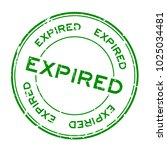 grunge green expired round... | Shutterstock .eps vector #1025034481