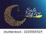 sale off 45  label  beautiful...   Shutterstock .eps vector #1025065519