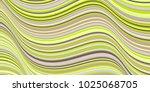 billowy curve lines wavy... | Shutterstock .eps vector #1025068705