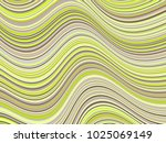 billowy curve lines wavy... | Shutterstock .eps vector #1025069149