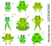 illustration collection of cute ... | Shutterstock . vector #1025082985