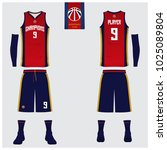 basketball uniform or sport... | Shutterstock .eps vector #1025089804