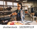 close up view of hardworking... | Shutterstock . vector #1025099119