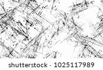 halftone grainy texture with... | Shutterstock .eps vector #1025117989