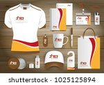 gift items business corporate... | Shutterstock .eps vector #1025125894