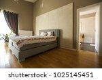 indoor house design  green room ...   Shutterstock . vector #1025145451