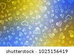 light blue  yellow vector... | Shutterstock .eps vector #1025156419