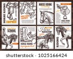 collection of vector hand drawn ... | Shutterstock .eps vector #1025166424
