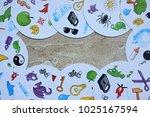children's board games   Shutterstock . vector #1025167594