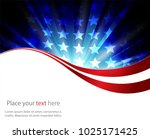 abstract image of the american...   Shutterstock .eps vector #1025171425